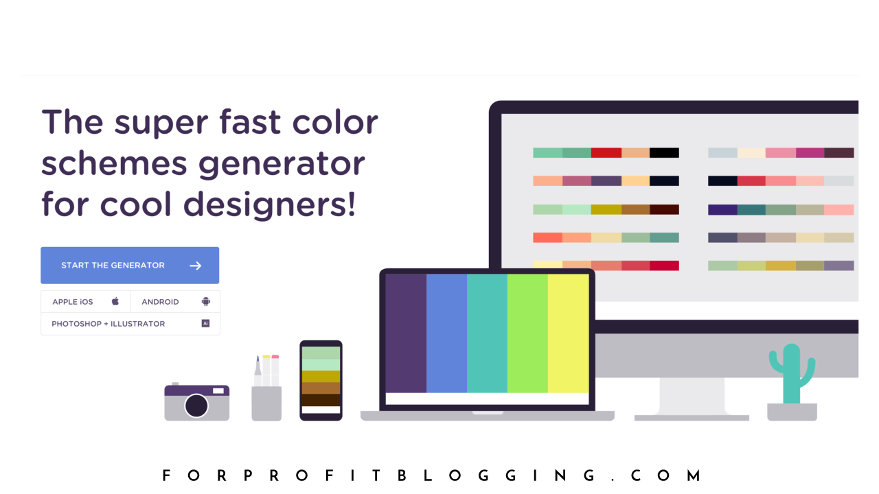 Create an Awesome Color Palette With Coolors.co