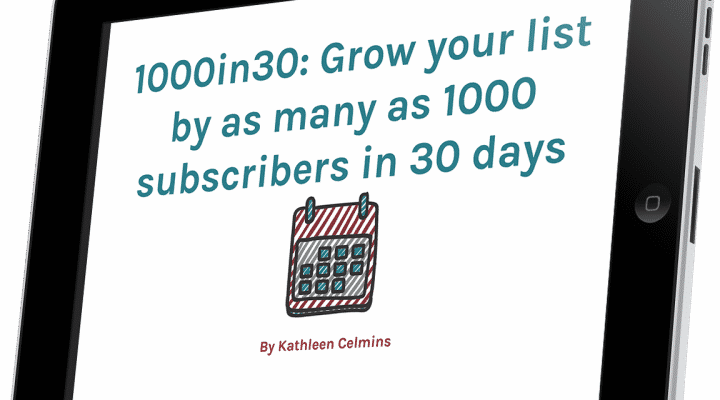 """<span itemprop=""""name"""">1000in30: Grow Your List by as Many as 1000 Subscribers in 30 Days</span>"""